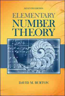 Elementary Number Theory By Burton, David M.